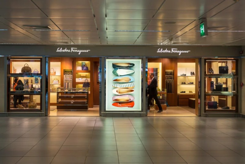 There's no shortage of luxury goods when you hit duty free at FCO. Photo courtesy of Shutterstock.