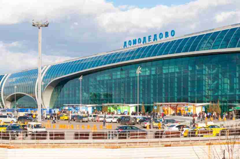 Domodedovo Airport. Photo courtesy of Shutterstock.