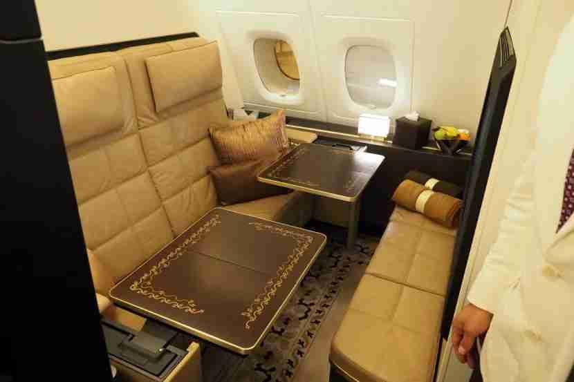 Etihad A380 The Residence - Tables