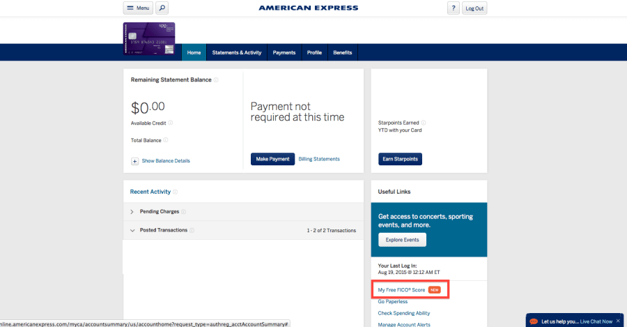 Am Ex Login >> Amex Now Offers Free Fico Scores To Consumer Cardholders