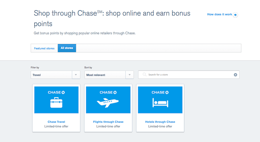Chase Sapphire Online Travel Booking
