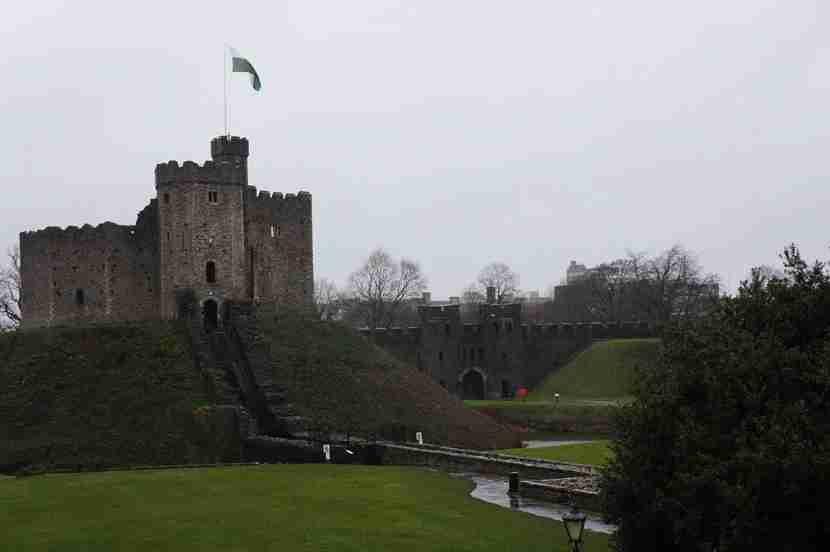 Some of the 16th-century flavor of Cardiff castle has been retained — but it was the 1800s when things *really* got good.