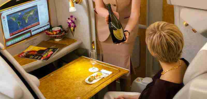 You can fly Emirates A380 first class for less than $2,000 each way.