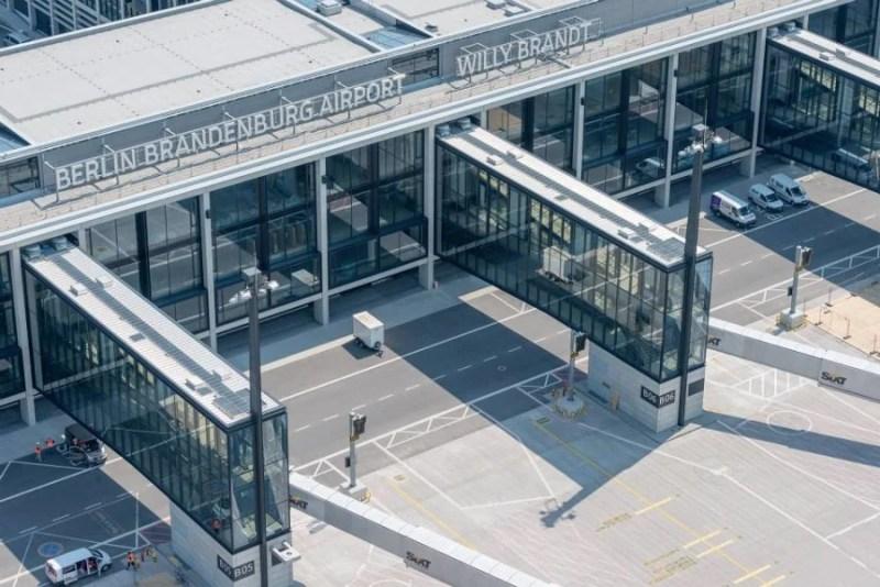 You can take tours of it by bus or bike. Günter Wicker : Flughafen Berlin Brandenburg GmbH 1