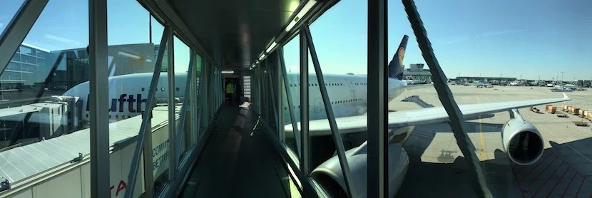 I really wanted to fly home on one of Lufthansa's A380s.