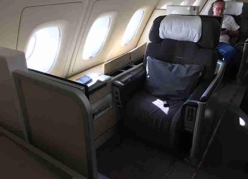 My seat: 1K. I prefer sitting on the side of the plane, not next to anyone.