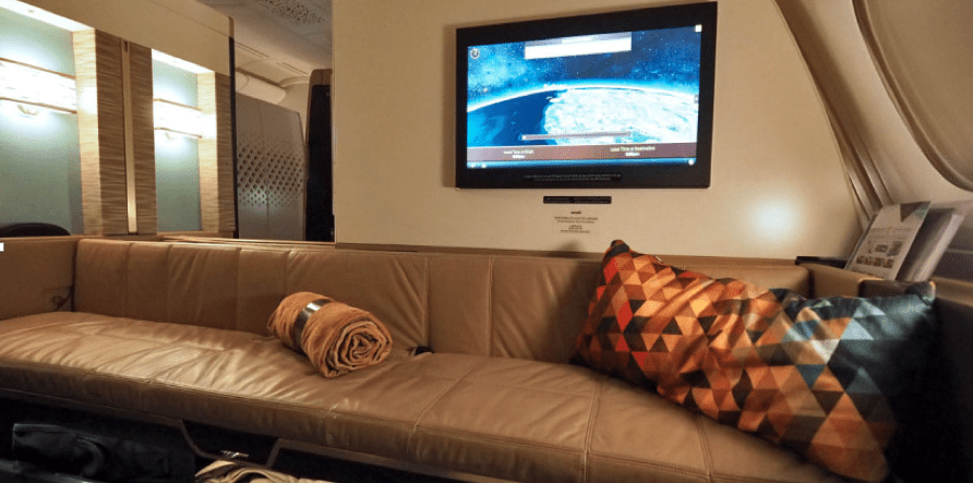 You can redeem AAdvantage miles for Etihad