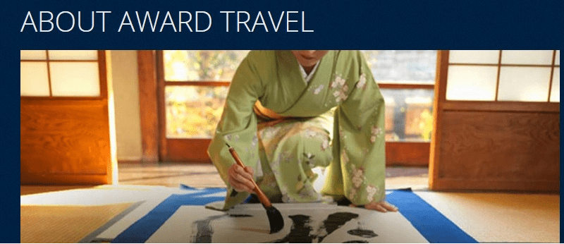 Head to the About Award Travel page on Delta.com and you won