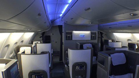 British Airways Club World A380