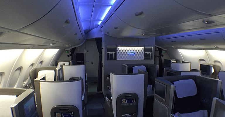 British Airways Club World A380