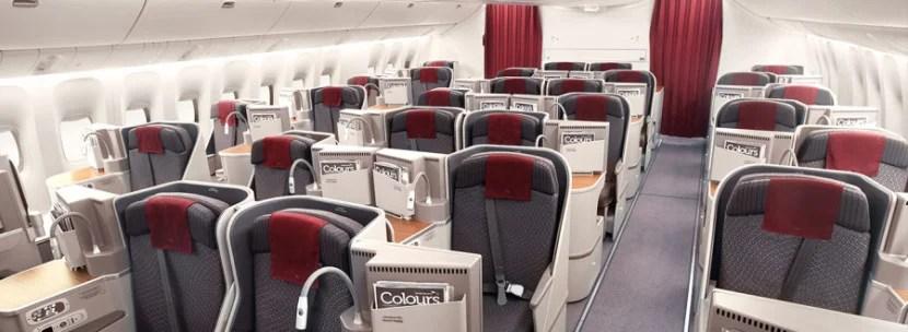 Business class on Garuda's 777-300ER.