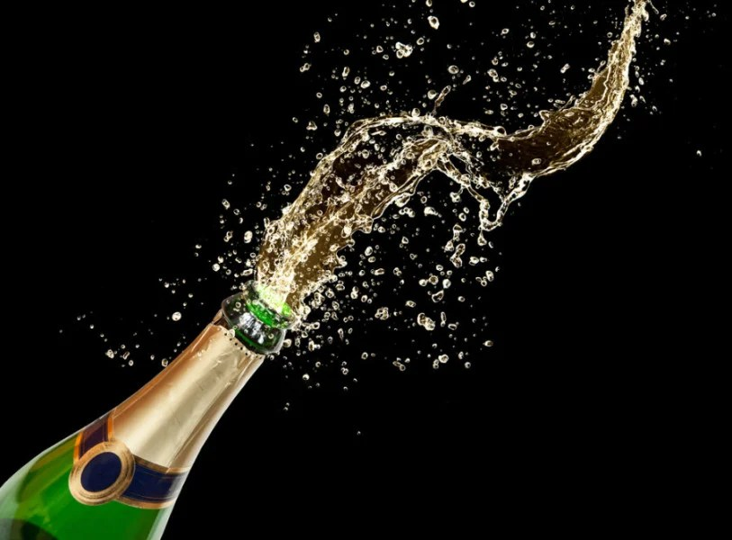 Cheers to indulging in Champagne OR Ambien... but not both at the same time. Photo courtesy of Shutterstock.