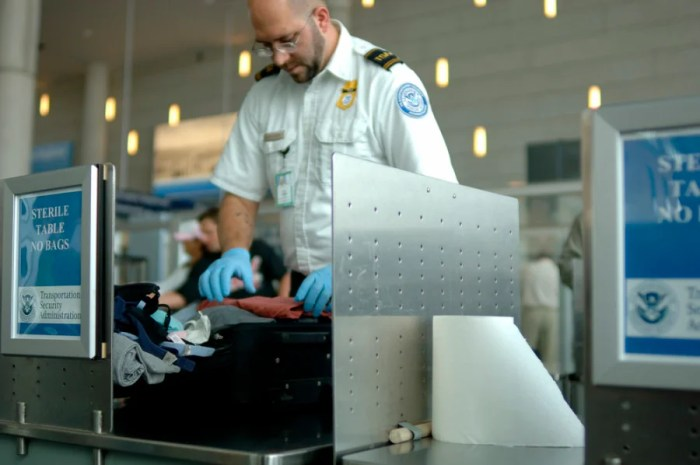 Being a TSA officer isn't all latex gloves and digging into your luggage — read on to learn more. Photo courtesy of Shutterstock.