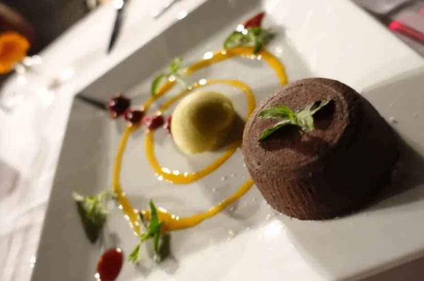 Turkish coffee chocolate lava cake. I believe there is nothing more to be said here.