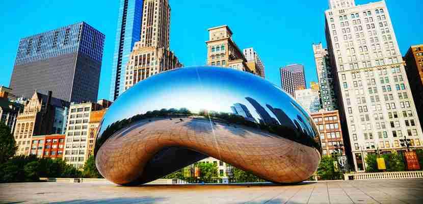 The Bean, a Chicago Landmark.