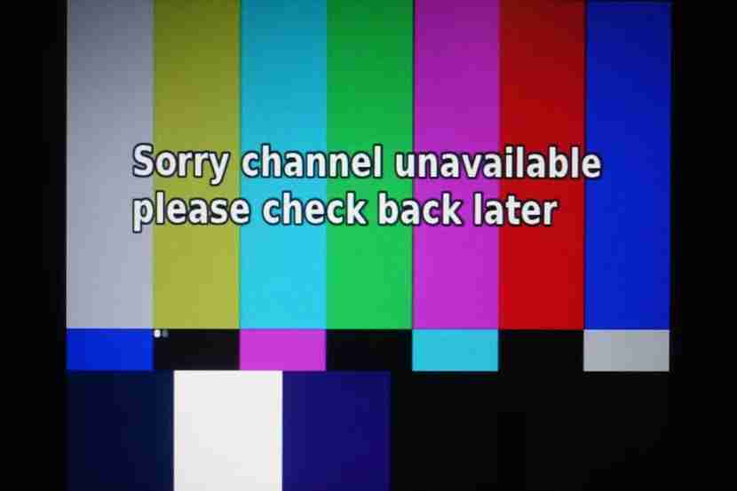 Live TV channels didn