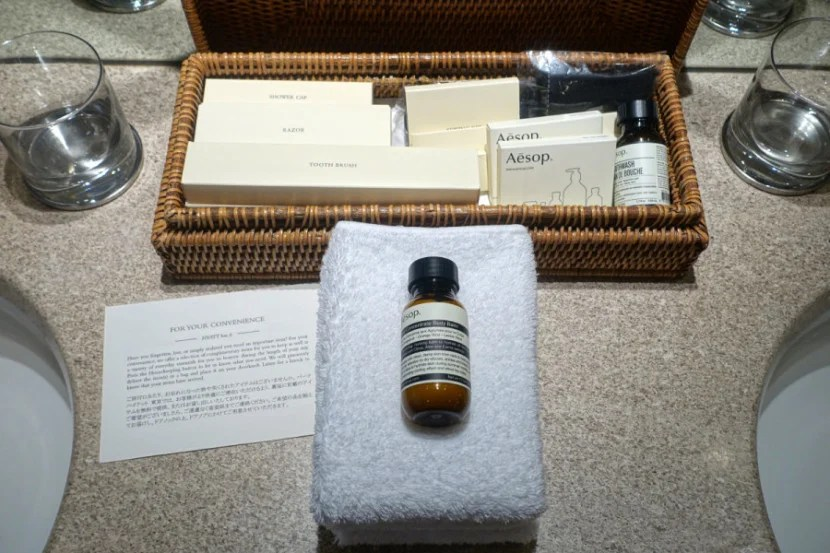 PHT provides Aesop amenities, which are fantastic.