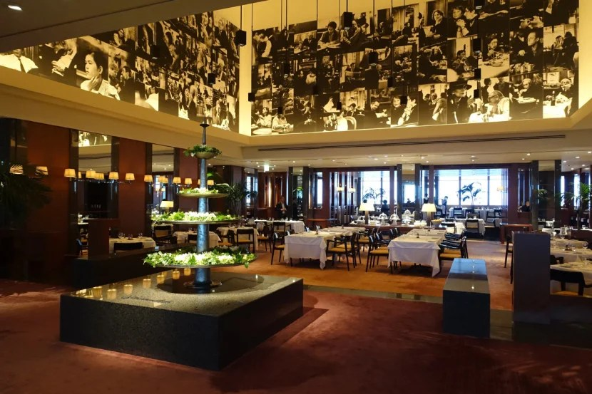 Girandole Restaurant, where breakfast is served.