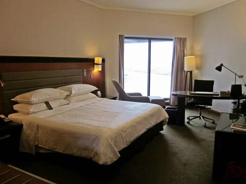 A quick view of the room and bed