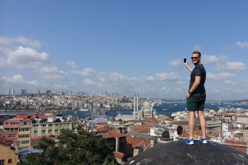 The view was incredible from the roof of the Grand Bazaar!