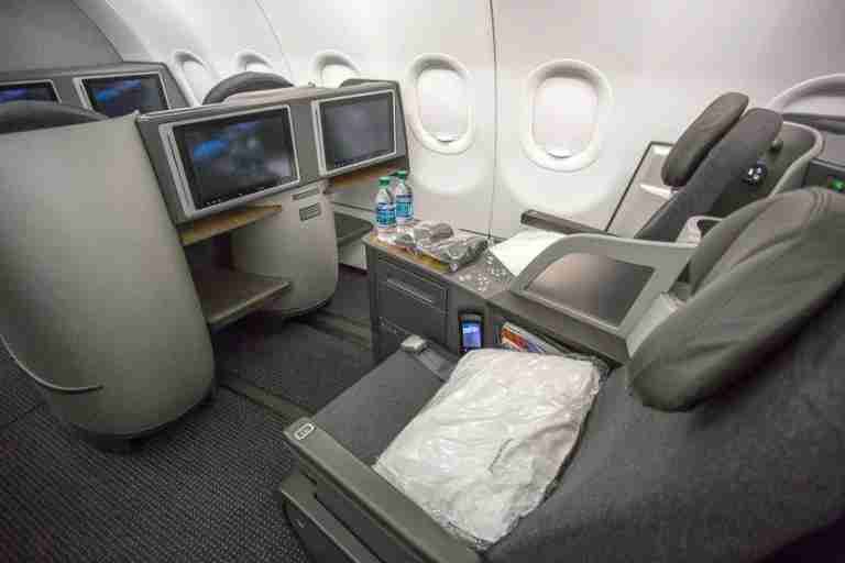 Business class on AA