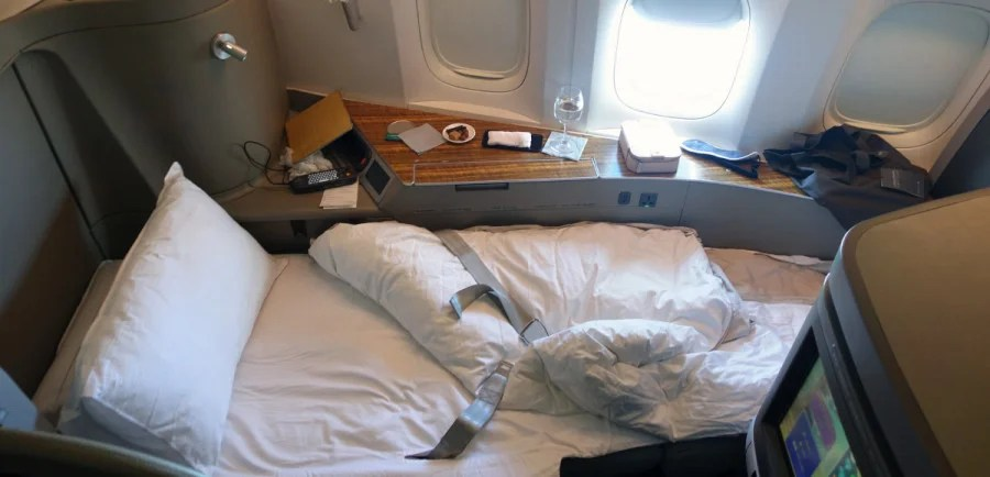 Review: Cathay Pacific 777-300ER First Class, New York-Hong Kong