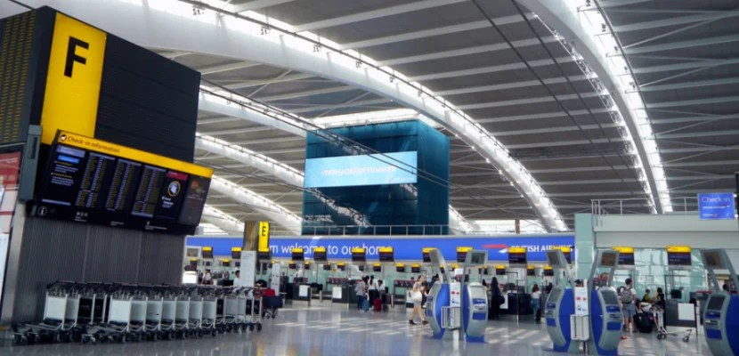 New check-in areas and improved shopping & dining within UK airports are financed in large part by passengers. Image courtesy of Shutterstock.