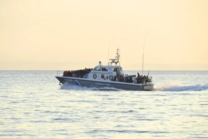 The Mediterranean Sea has become the world's most dangerous border crossing. Image courtesy of Malcolm Chapman / Shutterstock.com