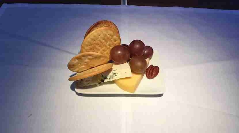 The minuscule cheese plate.