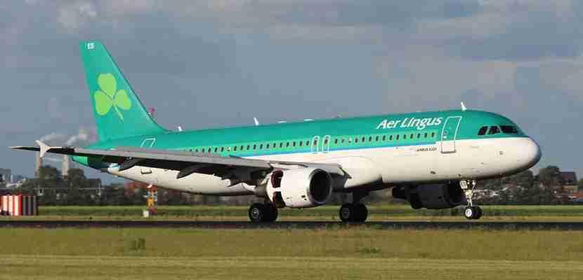 Aer Lingus will start flying in three new US cities next year. Photo courtesy of Shutterstock.