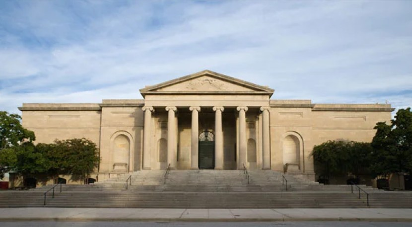 The historic Merrick Entrance of Baltimore's century-old Museum of Art. Photo courtesy of Boston Museum of Art.