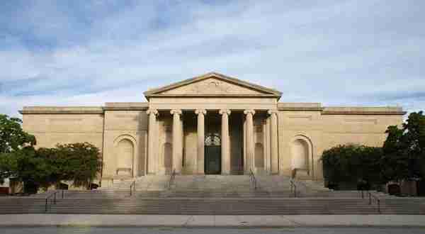 The historic Merrick Entrance of Baltimore