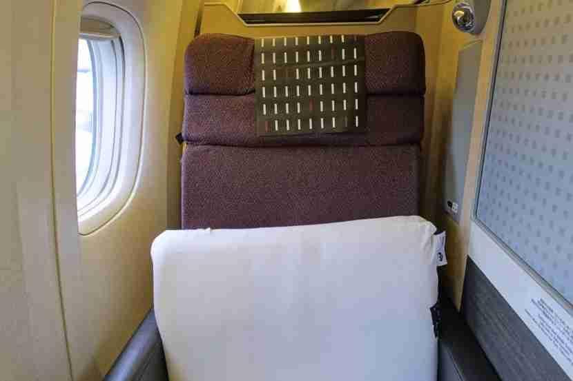 Seat 7K.