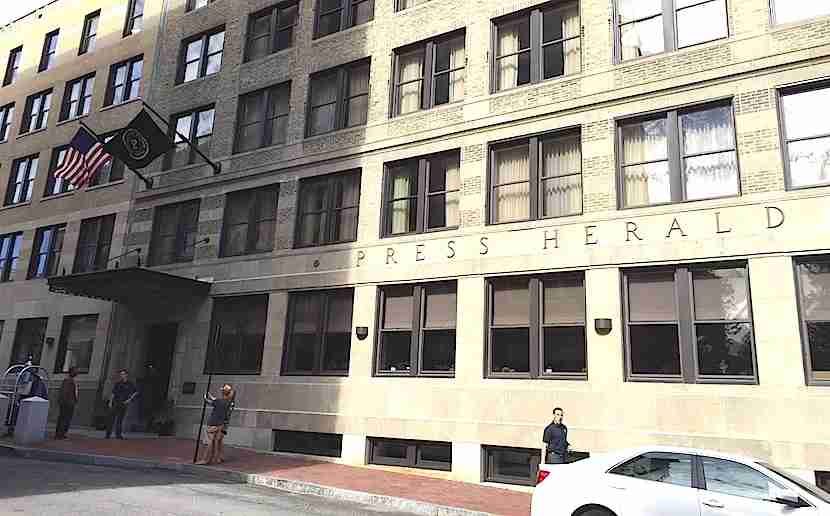 The Press Hotel is in a historic newspaper building.