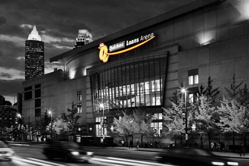 Quicken Loans Arena in Cleveland, Ohio