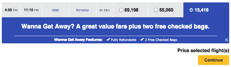 Can I Book Rental Car With Southwest Points