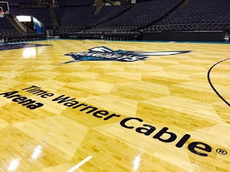 Time Warner Cable Arena in Charlotte, North Carolina.