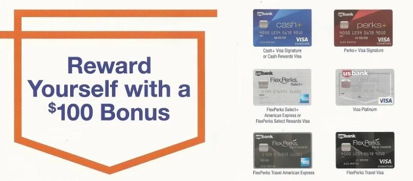 US Bank $100 promo 3