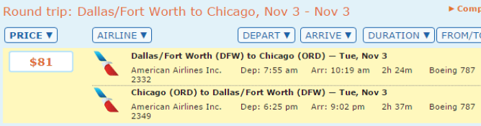 domestic dreamliner for cheap