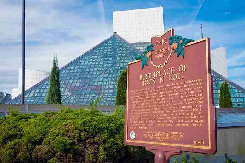 Build a visit to the Rock and Roll Hall of Fame into your trip.