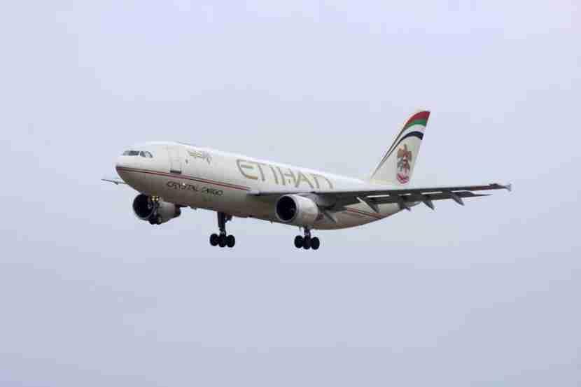 Get bonus miles for flying Etihad. Photo courtesy of Shutterstock.