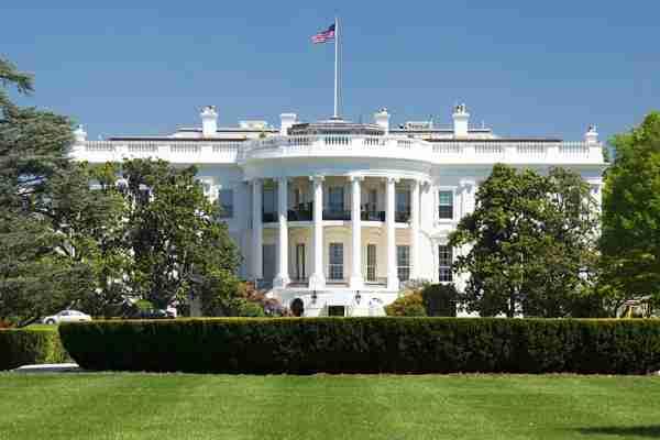 Washington's most famous address, 1600 Pennsylvania Avenue.