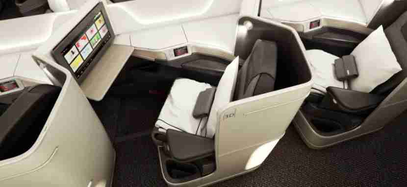 Air Canada offers a swank new business-class cabin on its Dreamliners.