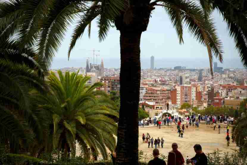 A sneak peek of Park Güell with Gaudí