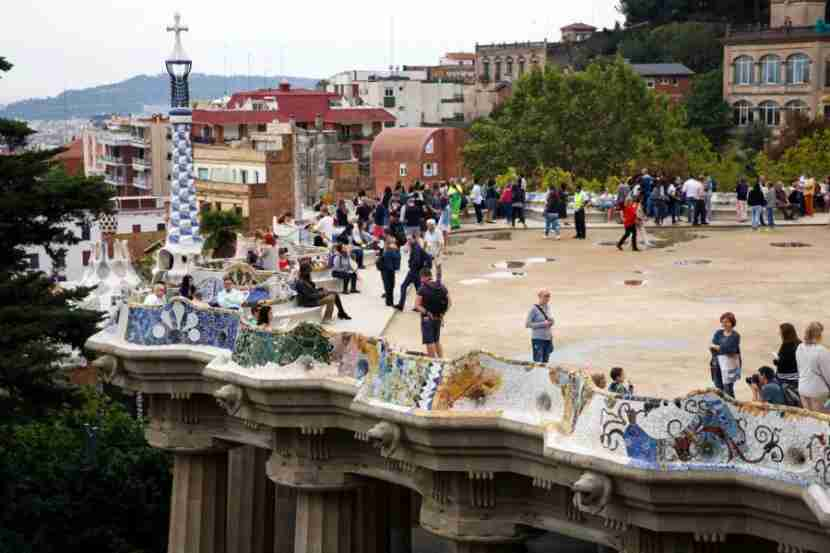 Park Güell by Antoni Gaudí is a UNESCO World Heritage Site.