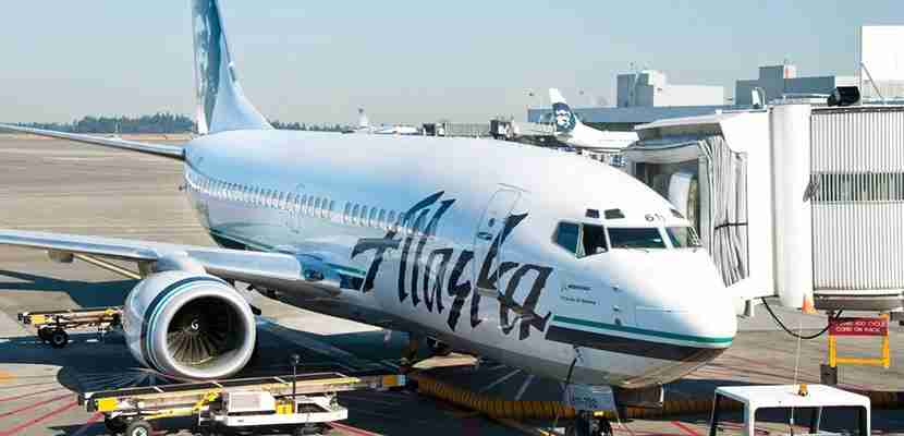 Alaska introduced new flights connecting cities in the Western US this month. Image courtesy of Shutterstock.