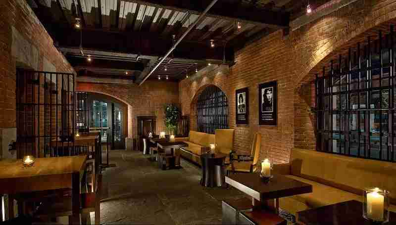 """Get thrown into the former jailhouse """"drunk tank"""" at the Alibi. Photo courtesy of hotel."""