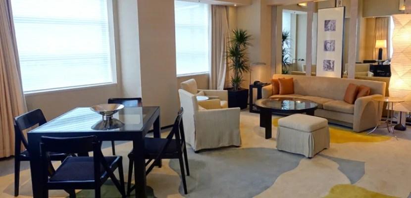 My suite at the Park Hyatt Tokyo.