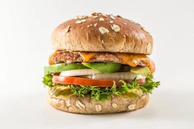Turkey Burger. Courtesy of Epic Burger.