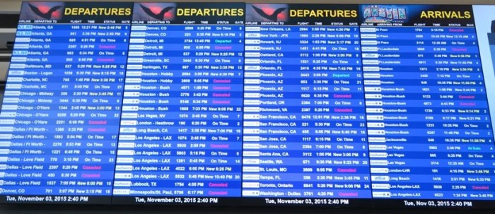Rather than risk a lengthy tarmac delay, it's easier for airlines to just cancel flights.